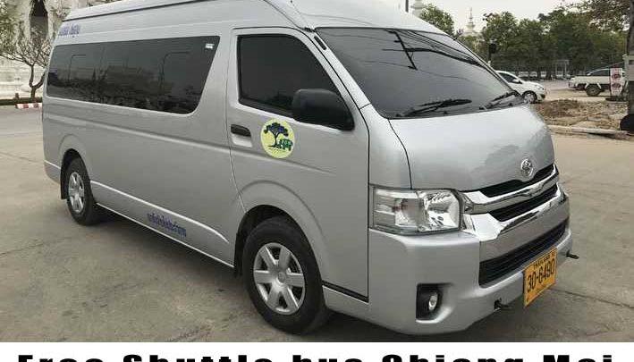 Free Shuttle bus Chiang Mai
